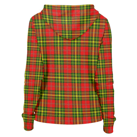 Leask Clan Tartan Zip Hoodie | Men & Women | Clothing