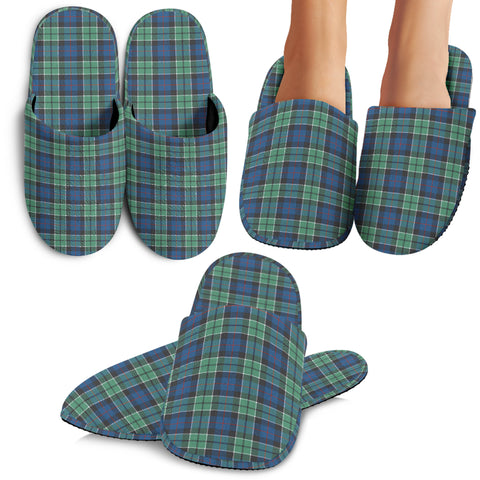 Leslie Hunting Ancient Tartan Slipper A7