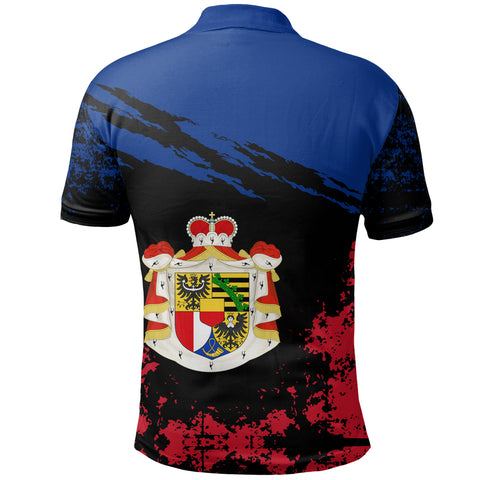 Image of Liechtenstein Polo Shirt Customized K5