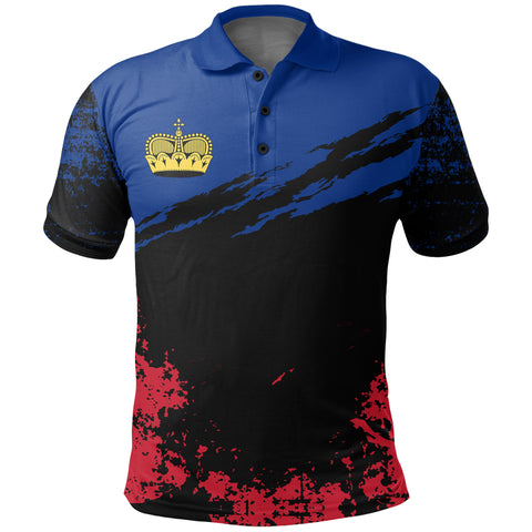 Liechtenstein Polo Shirt Customized K5