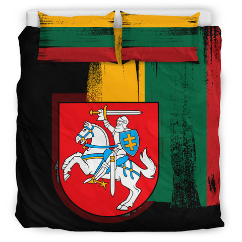 Lithuania Flag Coat Of Arms Face Mask - J6