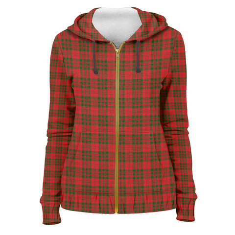 Tartan Zip Hoodie -Livingstone Modern | Men & Women | Clothing