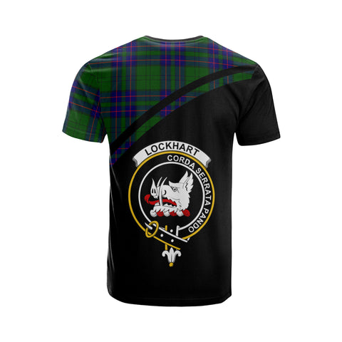 Lockhart Tartan All Over T-Shirt - Curve Style
