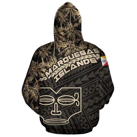 Marquesas Islands Hoodie Golden Coconut A02