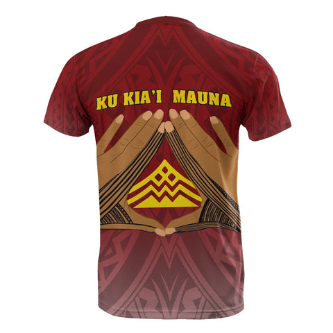 Hawaii Mauna Kea T-Shirt - Hand Sign Symbol - BN12