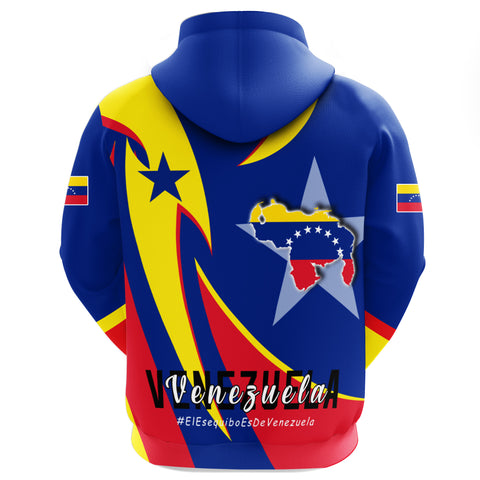 1stTheWorld Hoodie Zip - Venezuela In My Heart A30