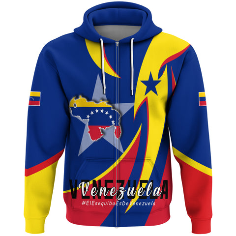 Image of 1stTheWorld Hoodie Zip - Venezuela In My Heart A30