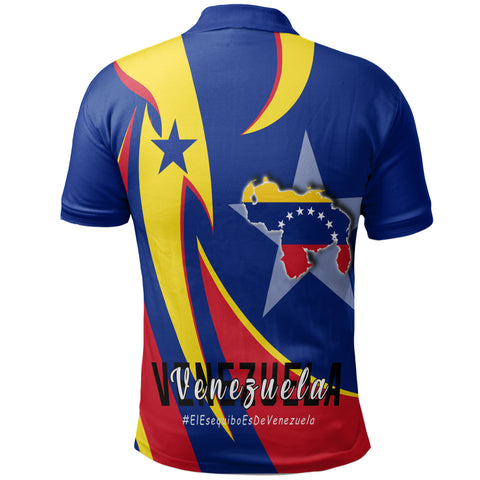 1stTheWorld Polo Shirt - Venezuela In My Heart A30
