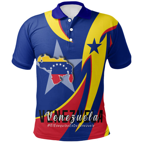 Image of 1stTheWorld Polo Shirt - Venezuela In My Heart A30