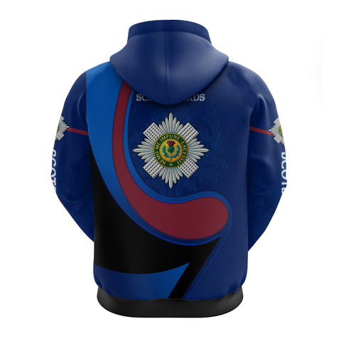 Scotland Hoodie - Scots Guards - Thistle TH5