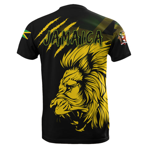 Jamaica T-Shirt Lion Coat Of Arms TH5