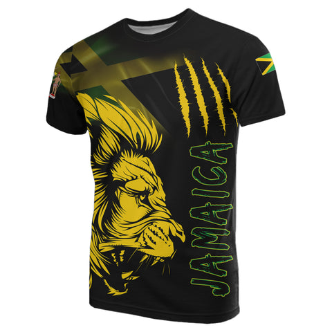 Jamaica T-Shirt Lion Coat Of Arms