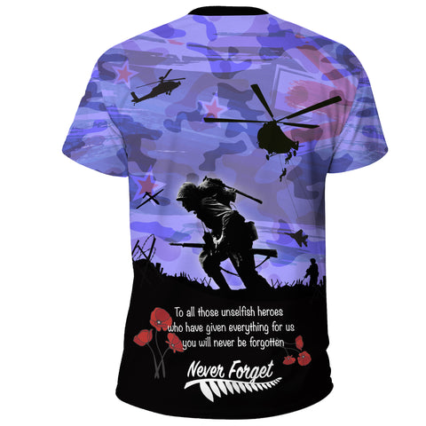 Image of Anzac Day 2021 We Will Always Remember - T-shirt A30