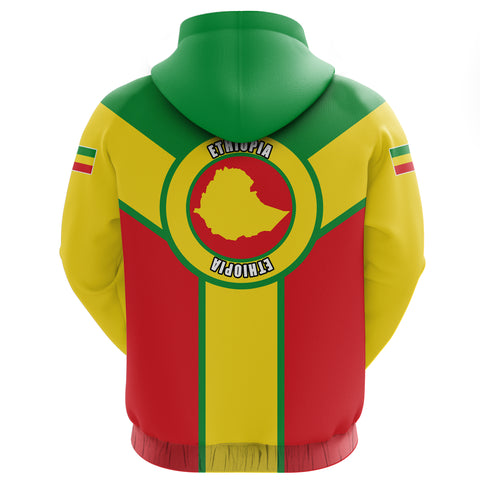 Ethiopia Pullover Hoodie Rising A10