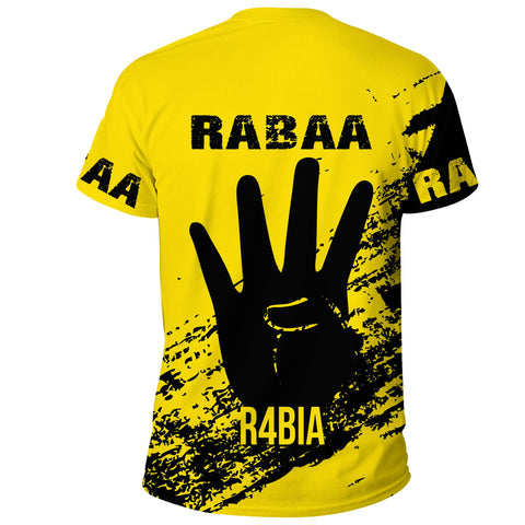 Tunisia Rabaa T-shirt - Rabbi'ah Sign | Love The World