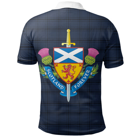 Scotland Polo Shirt - Scotland Tartan Army Style Th5
