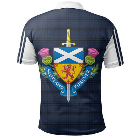 Scotland Polo - Scotland Tartan Army Stye Th5
