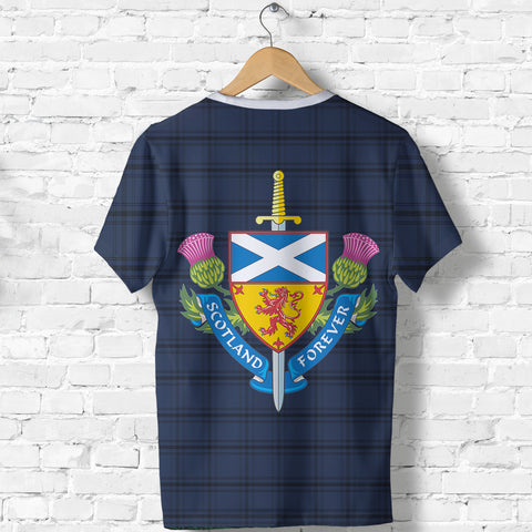 Scotland T-Shirt - Scotland Tartan Army Style TH5