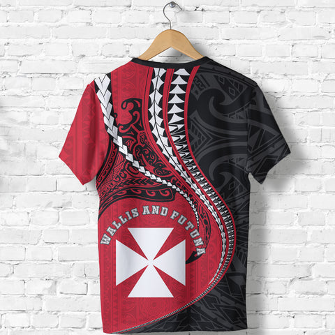 Wallis And Futuna T-Shirt Kanaloa Tatau Gen WF TH65