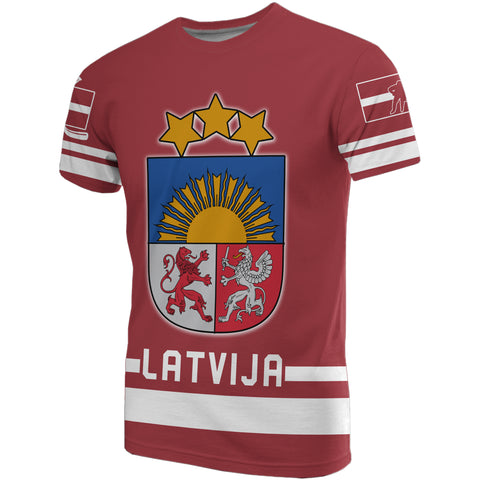 Latvia Hockey T-shirts | Clothing | Love The World