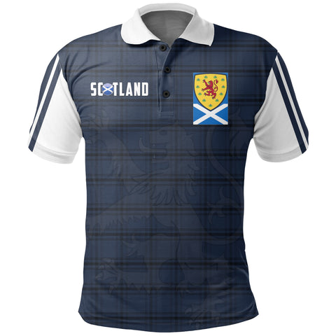 Image of Scotland Polo - Scotland Tartan Army Stye