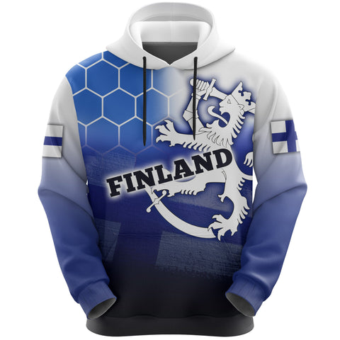 Finland Hoodie - All Over Print Victory