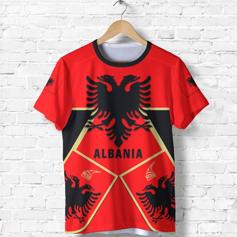 Albania T-Shirt Albania Black Eagle Shirt