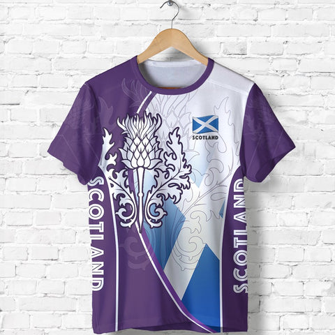 Scotland T-Shirt Thistle Mix Flag