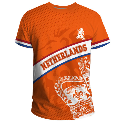 Netherlands T-shirt - Netherlands King's Day Lion Crown A10