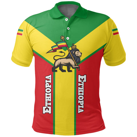 Image of Ethiopia Polo Shirt Rising A10