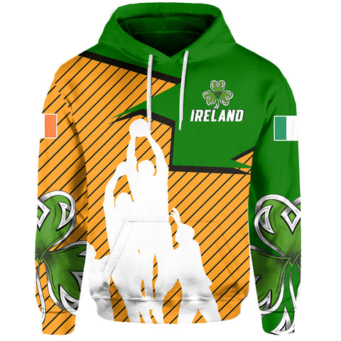 Image of Ireland Hoodie Gaelic Football A7