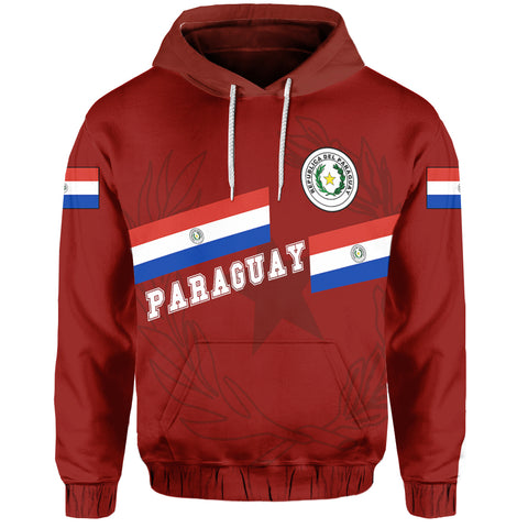 Paraguay Hoodie - Aslant Version Front