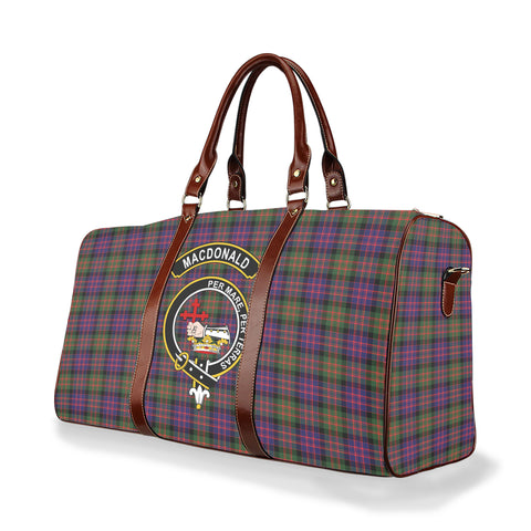 Tartan Travel Bag - Macdonald (Clan Donald) Clan | Scottish Travel bag | 1sttheworld