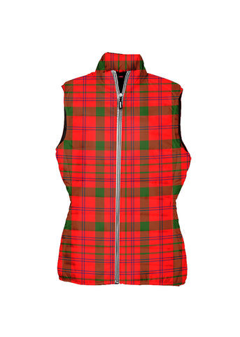 Image of MacDonnell of Keppoch Modern Tartan Puffer Vest for Men and Women K5