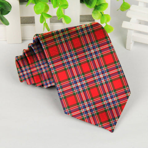 Image of Macfarlane Modern Tartan Tie TH8