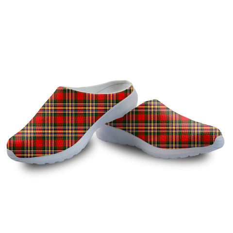 MacGill Modern Tartan Back Open Shoes | 1sttheworld.com
