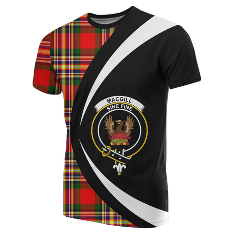 Image of MacGill Modern Tartan T-shirt Circle