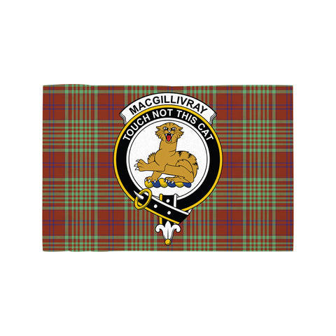 MacGillivray Hunting Ancient Clan Crest Tartan Motorcycle Flag