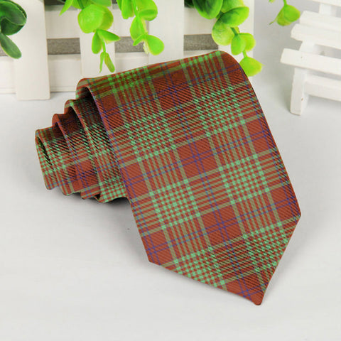 Image of Macgillivray Hunting Ancient Tartan Tie TH8