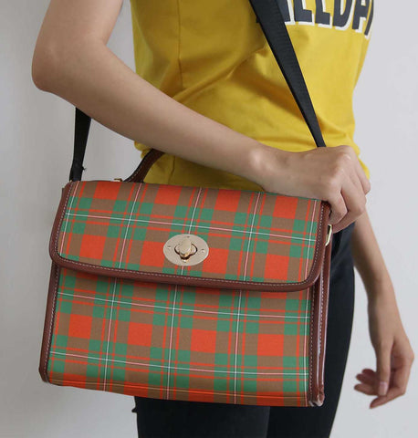 Tartan Bag - Macgregor Ancient Canvas Handbag A9
