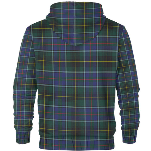 MacInnes Clan Tartan Zip Hoodie | Men & Women | Clothing