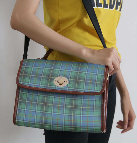 Image of Tartan Bag - Macinnes Ancient Canvas Handbag A9