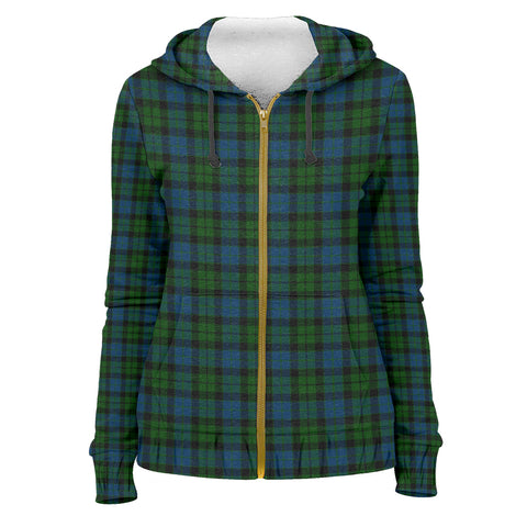 Image of Tartan Zip Hoodie -MacKay Modern | Men & Women | Clothing