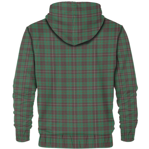 Image of Tartan Zip Hoodie -MacKinnon Hunting Ancient | Men & Women | Clothing