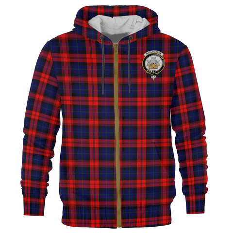MacLachlan Clan Tartan Zip Hoodie | Men & Women | Clothing