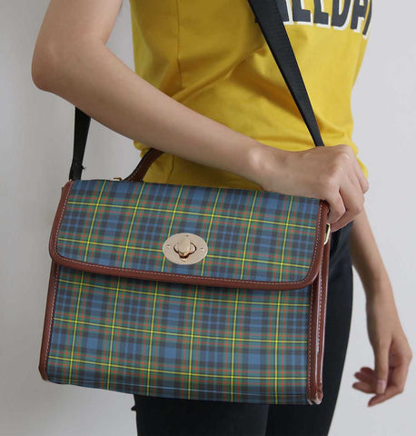 Tartan Bag - Maclellan Ancient Canvas Handbag A9
