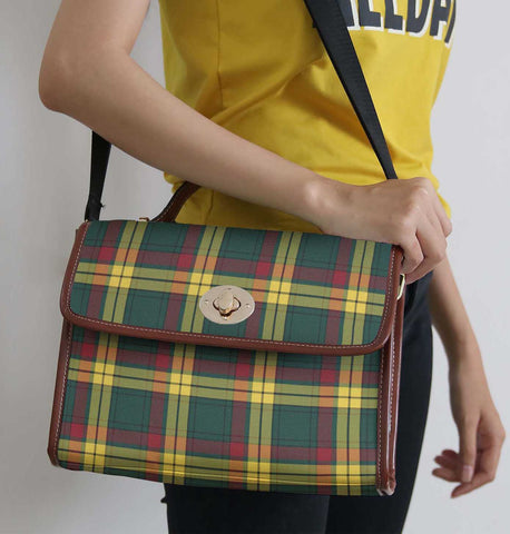 Tartan Bag - Macmillan Old Modern Canvas Handbag A9