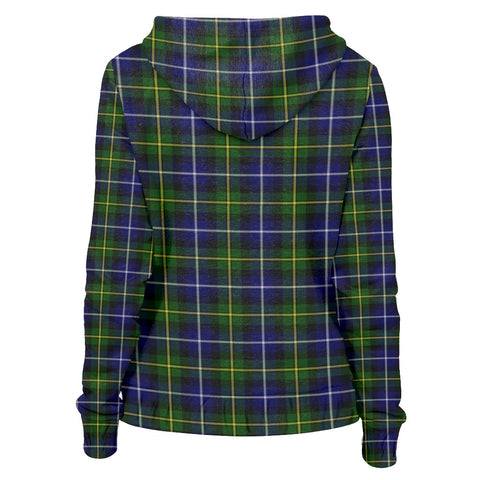Tartan Zip Hoodie -MacNeill of Barra Modern | Men & Women | Clothing