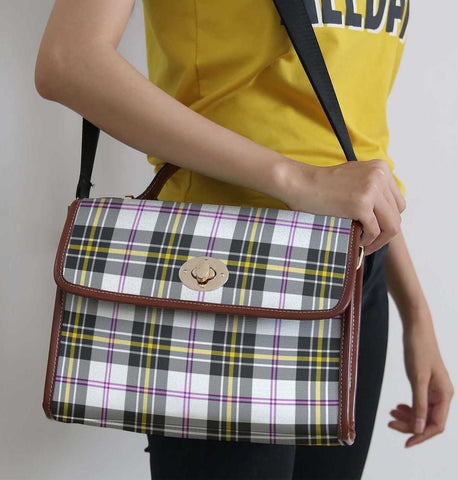 Tartan Bag - Macpherson Dress Modern Canvas Handbag A9