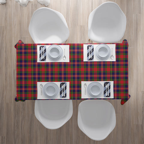 Image of MacPherson Modern Tartan Tablecloth |Home Decor